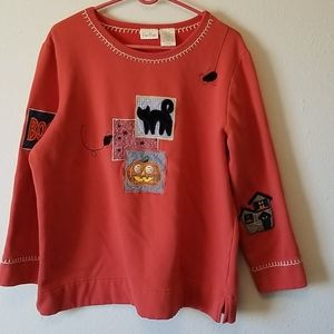 BOBBIE BROOKS HALLOWEEN SWEATER SIZE 14W/16W